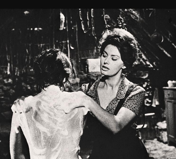 Scene from Vittorio de Sica
