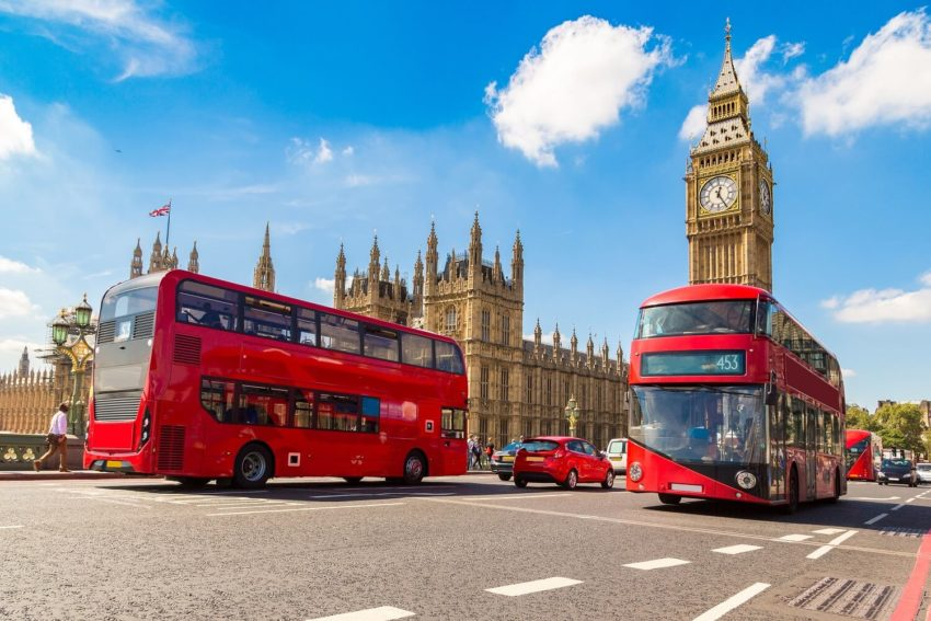 Main Attractions of London, England