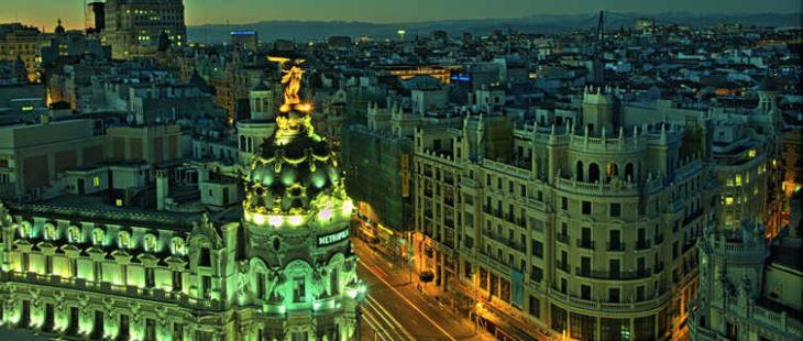 A view from Círculo de Bellas Artes, Madrid