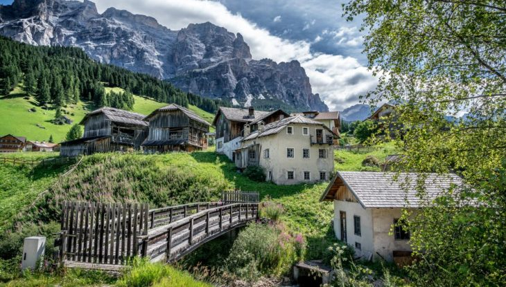 From Alta Badia in Trentino-Alto Adige