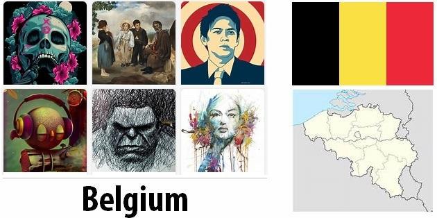 Belgium Arts and Literature