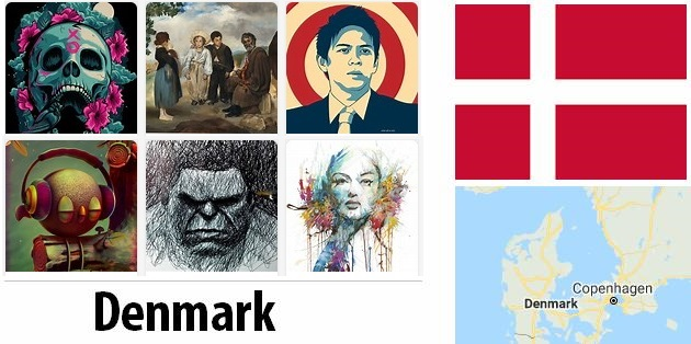 Denmark Arts and Literature