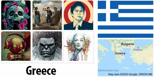 Greece Arts and Literature