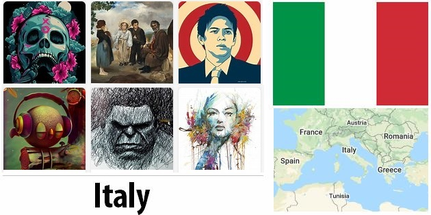 Italy Arts and Literature