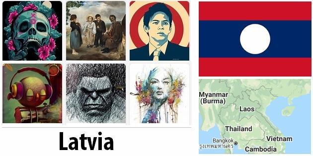 Latvia Arts and Literature