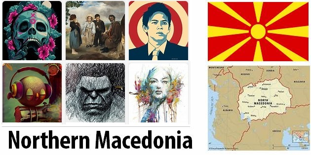 Macedonia Arts and Literature