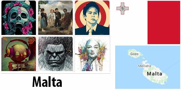 Malta Arts and Literature