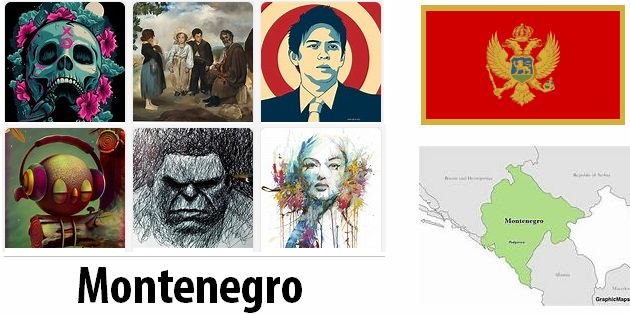Montenegro Arts and Literature