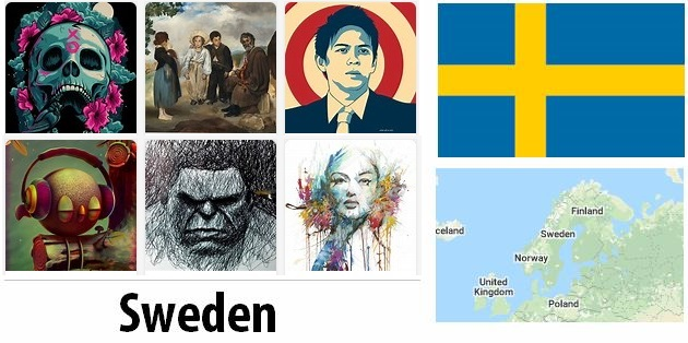 Sweden Arts and Literature