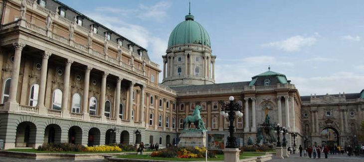 Buda Castle or Royal Palace, Budapest