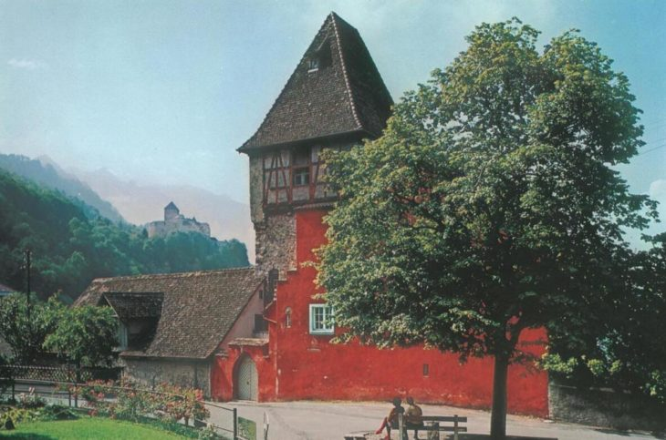 The Red House in Vaduz