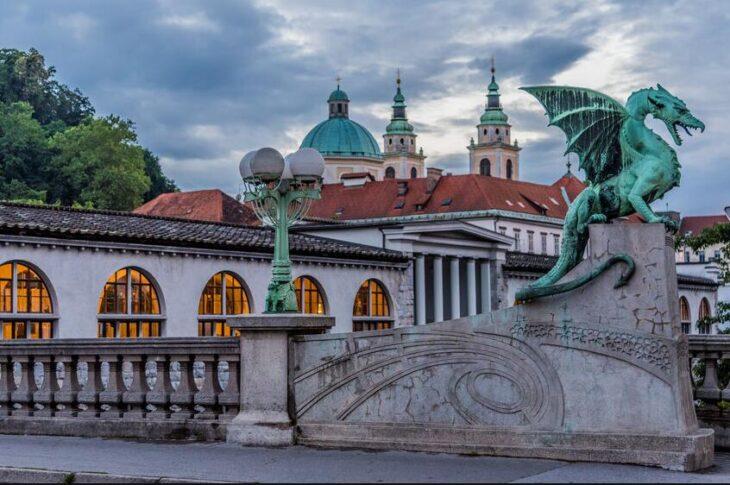 Broene and Ljubljana