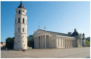 Cathedral and Vilnius