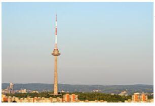 The TV tower in Vilnius