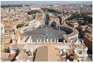 Vatican City and St. Peter's Basilica