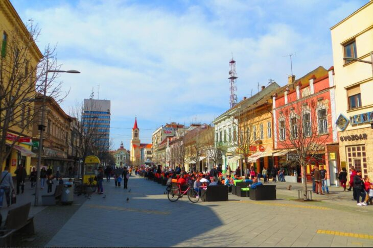 Serbia Center of Zrenjanin
