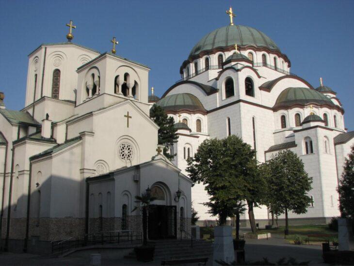 Serbia Sveti Sava Orthodox Church in Belgrade