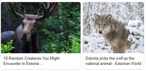 Estonia Animals