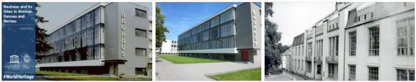 Bauhaus Sites in Weimar, Dessau and Bernau