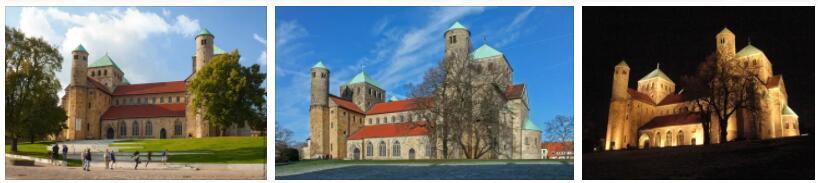 Cathedral and Michaeliskirche in Hildesheim