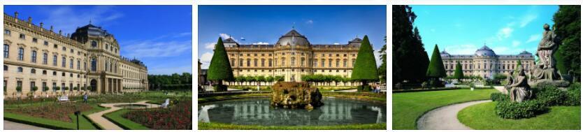 Würzburg Residence and Hofgarten